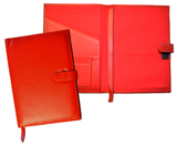 Red Premium Leather Journals